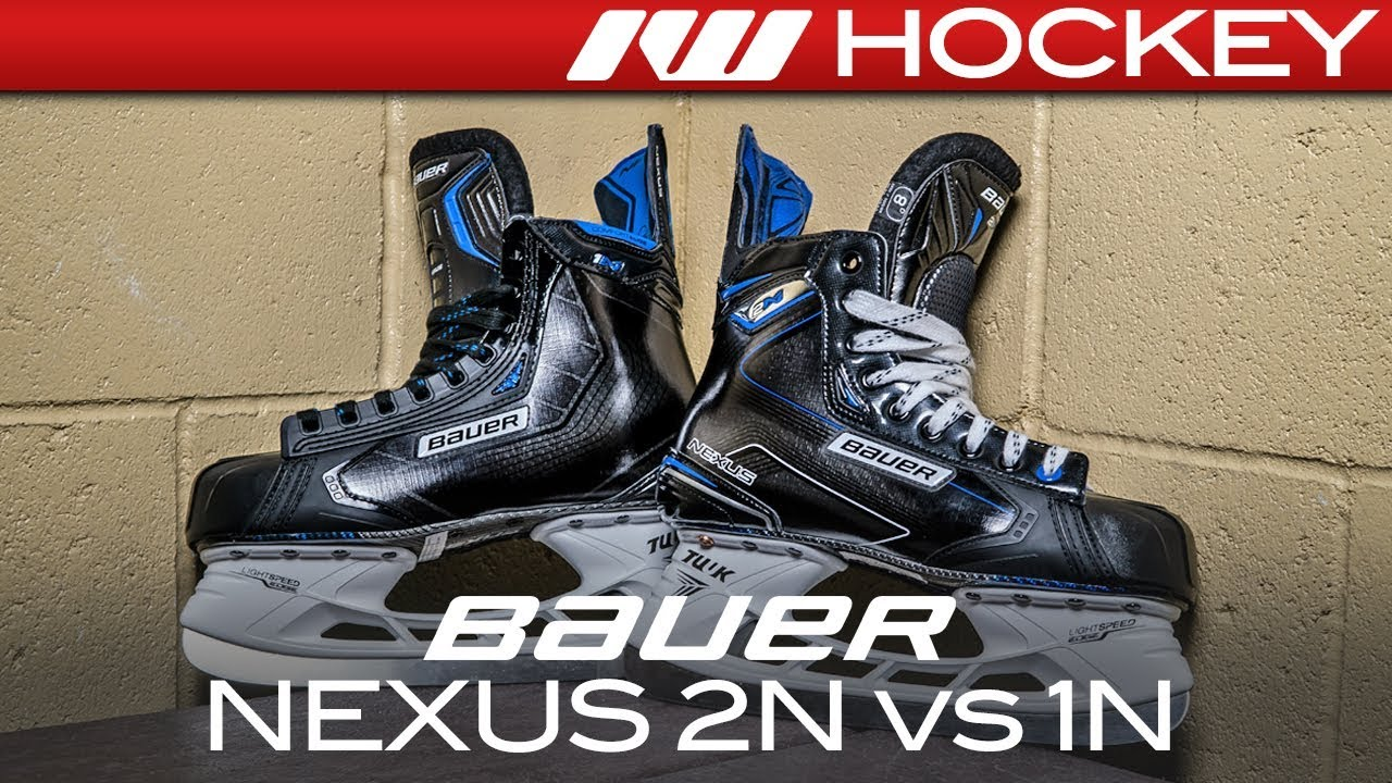 bauer nexus 1n skates review