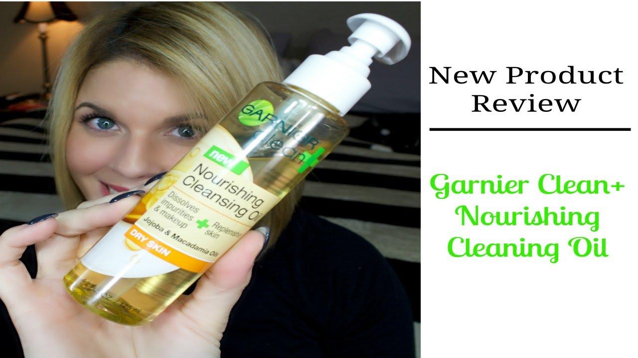 garnier nourishing cleansing oil review