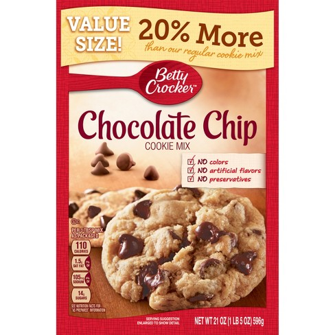 betty crocker chocolate chip cookie mix review