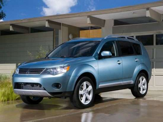 2008 mitsubishi outlander es review
