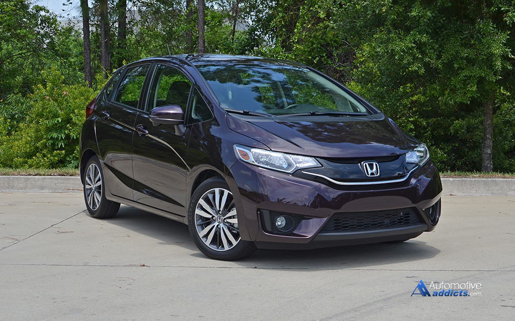 2015 honda fit ex l review