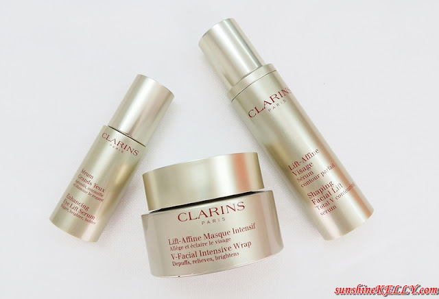 clarins shaping facial lift serum review