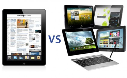 android vs ipad tablet review