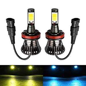 h11 led fog light bulb review