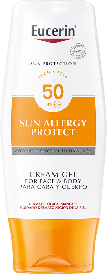 eucerin sun allergy protection cream gel spf 50 review