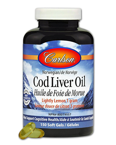 carlson cod liver oil review