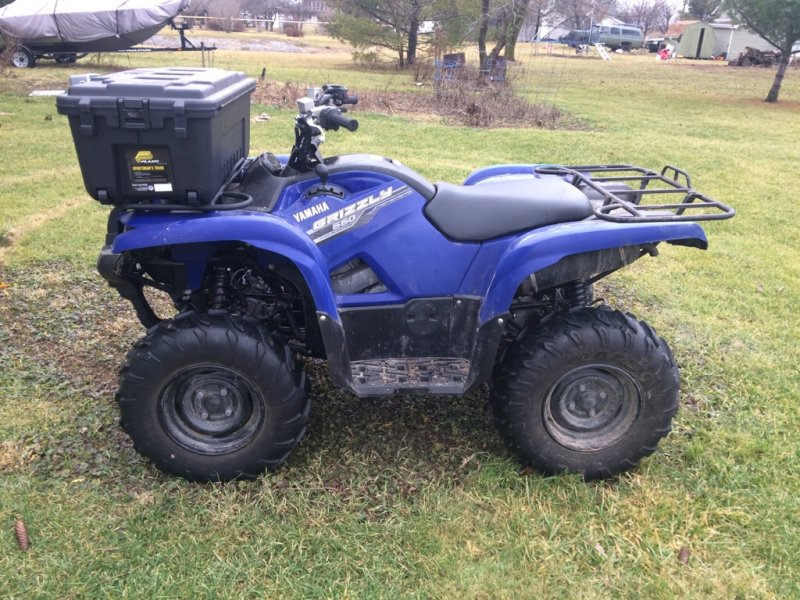 2015 yamaha grizzly 550 review