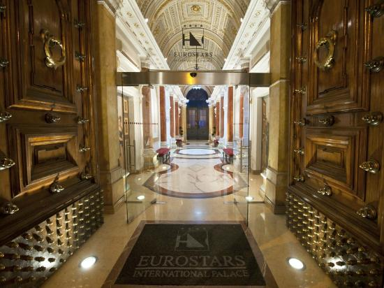 eurostars international palace rome reviews