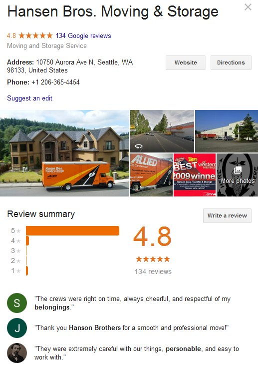 armstrong moving and storage reviews