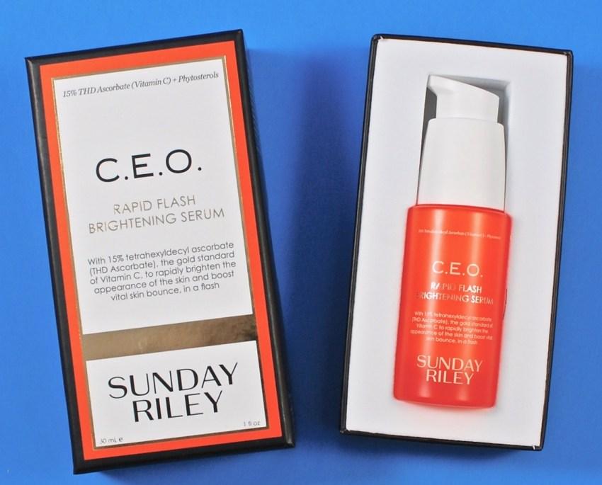 sunday riley rapid flash brightening serum review