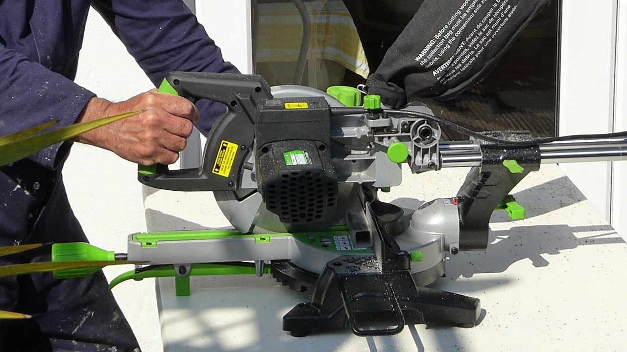 evolution sliding mitre saw review