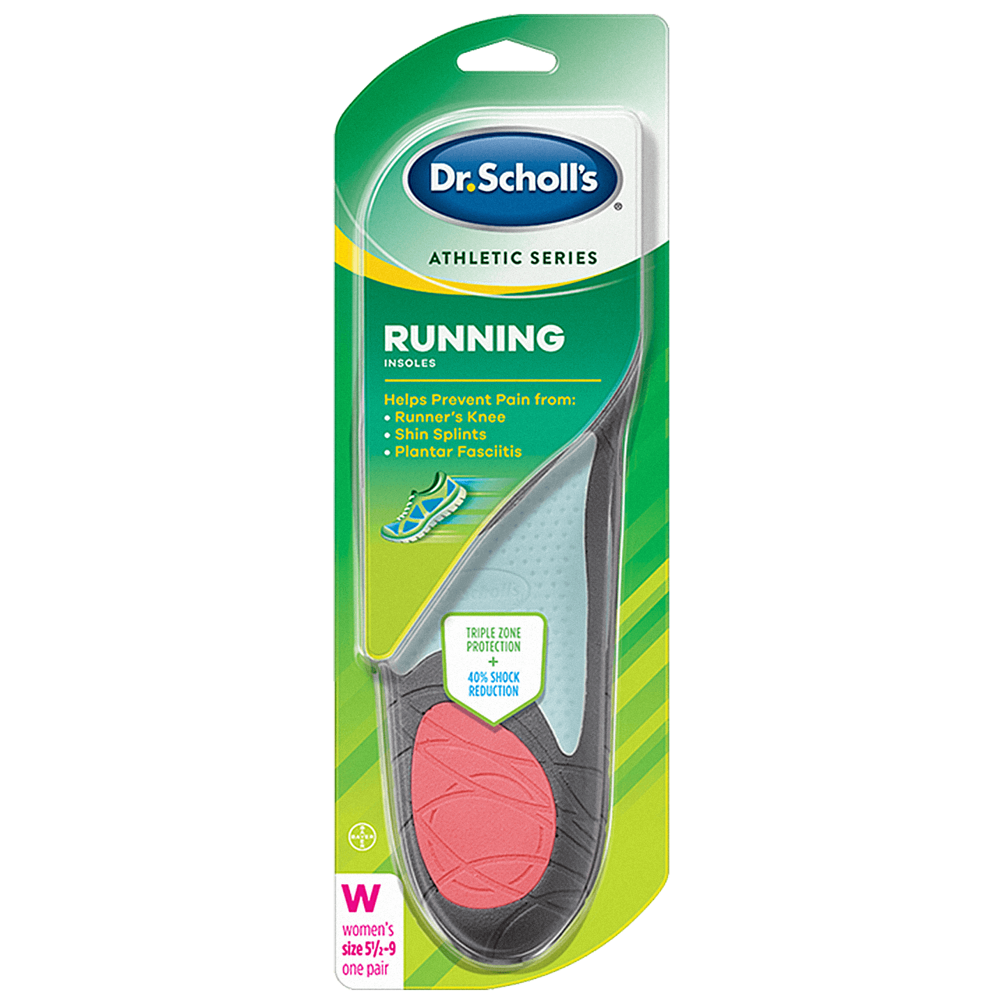 dr scholls running insoles review