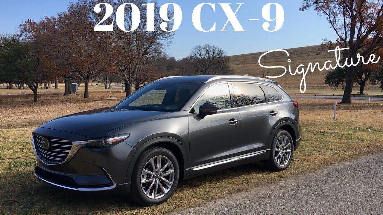 2018 cx 9 signature review