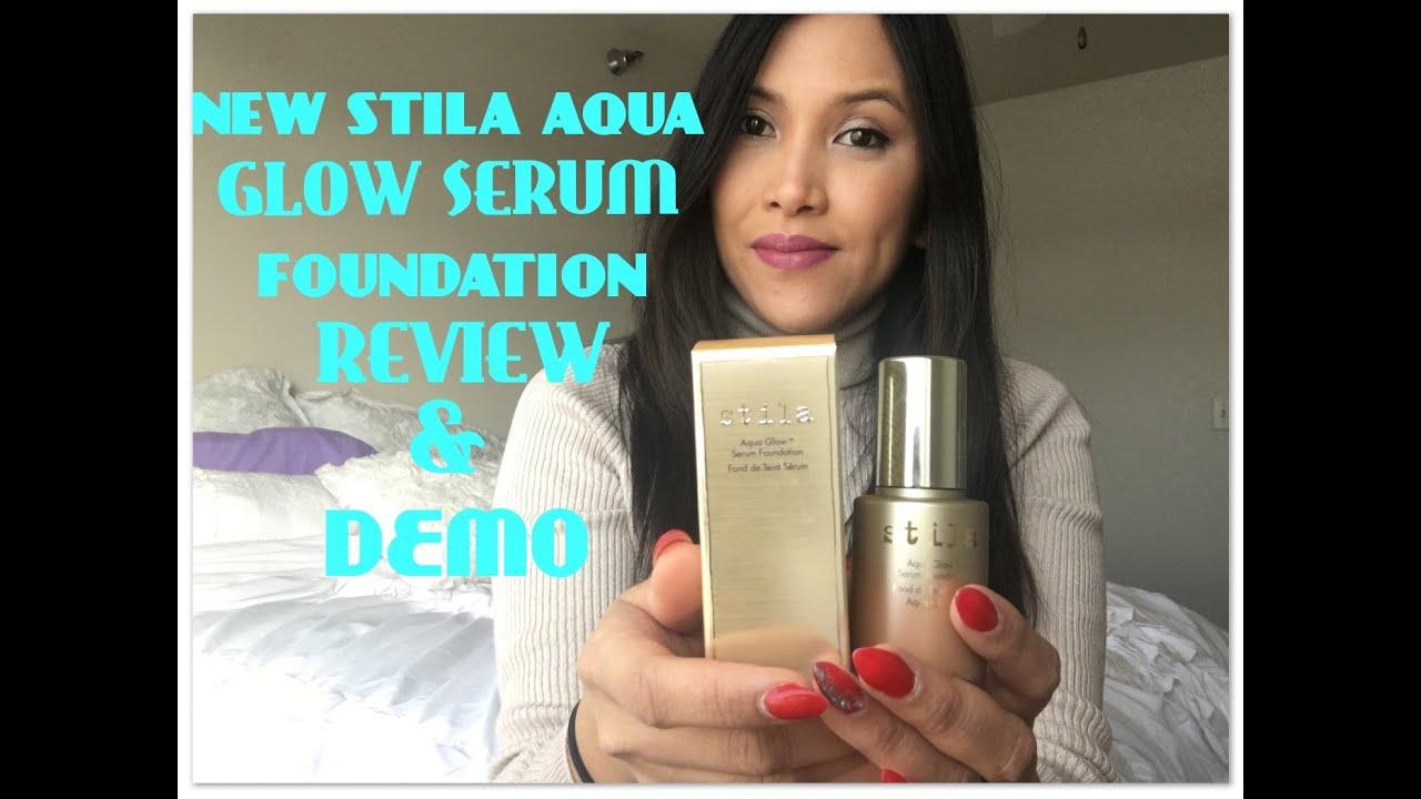 stila foundation aqua glow review