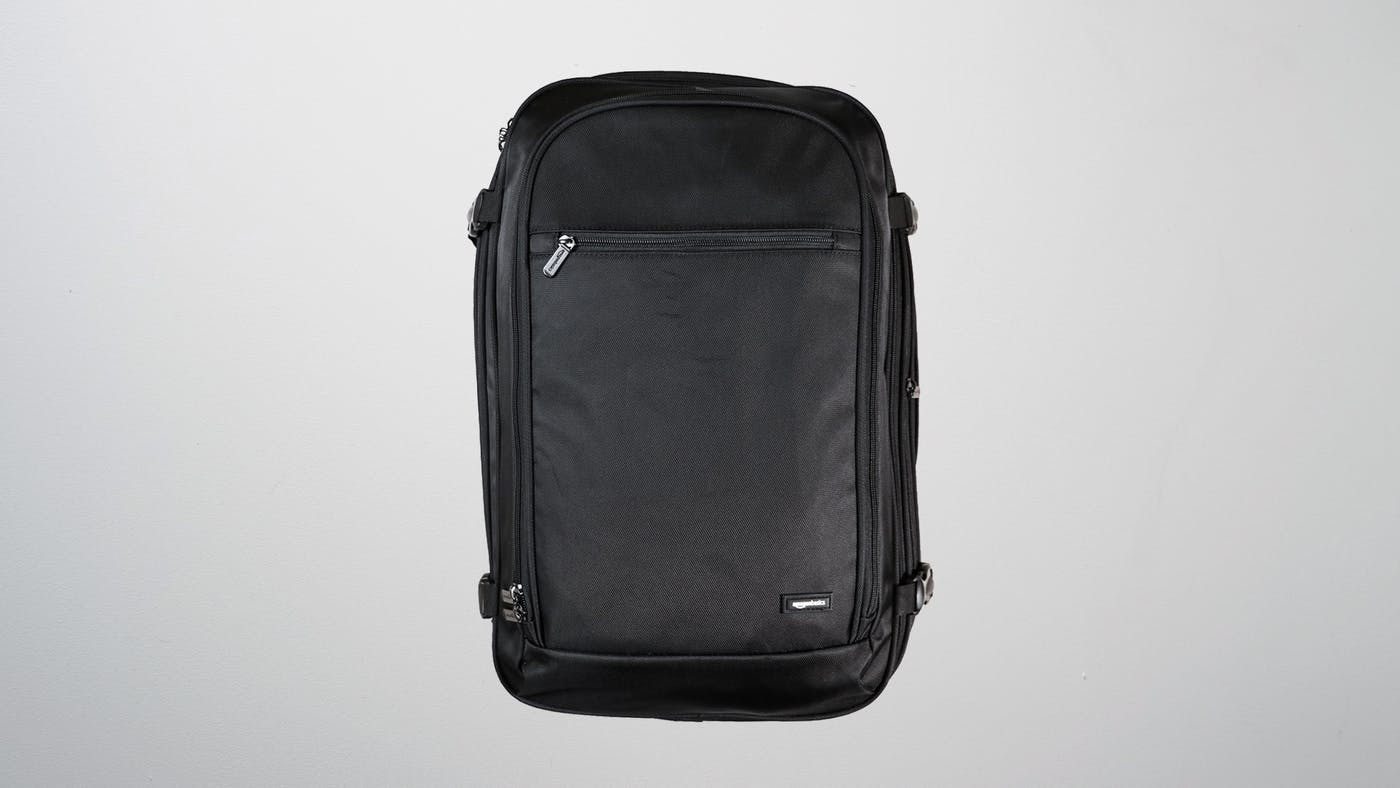 amazonbasics carry on backpack review