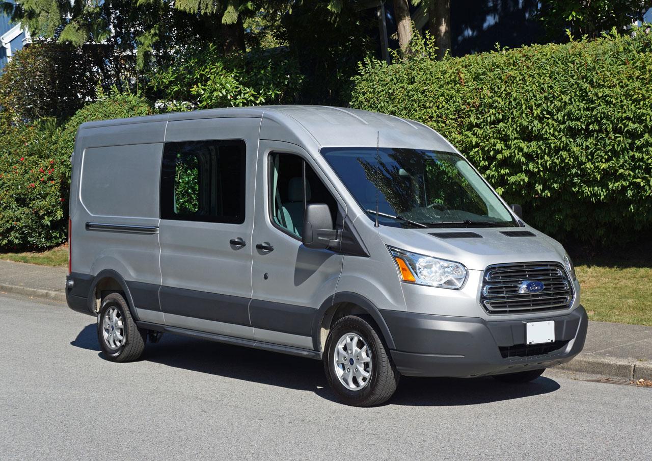 ford transit van diesel review