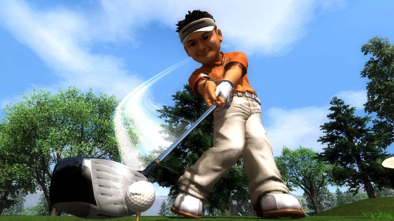 hot shots golf out of bounds review