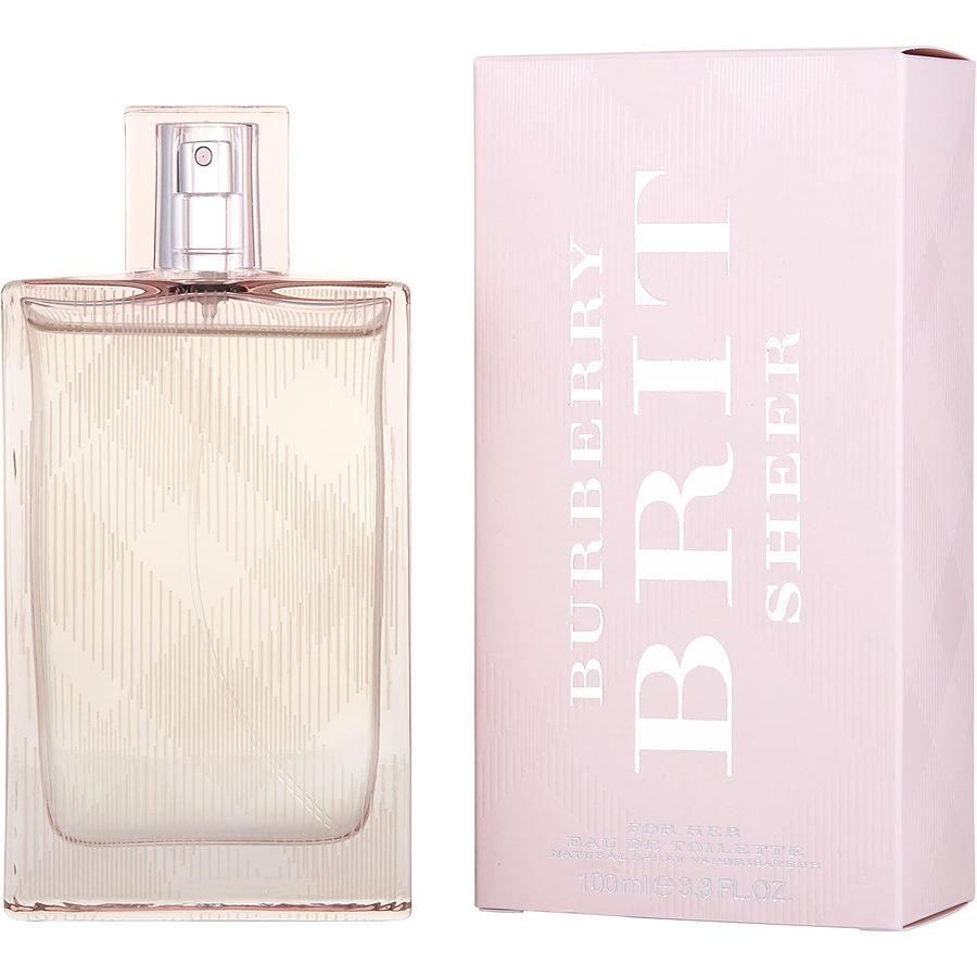 burberry brit sheer perfume review