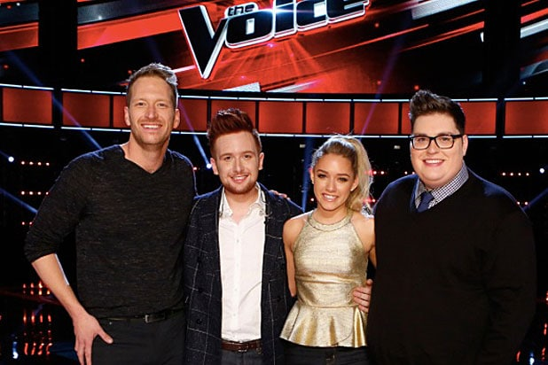 the voice reviews from last night