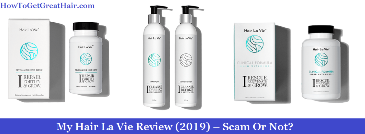 hair la vie shampoo reviews