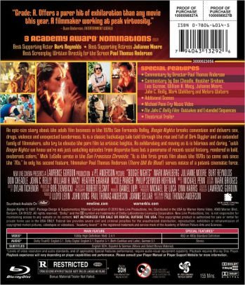 boogie nights uk blu ray review