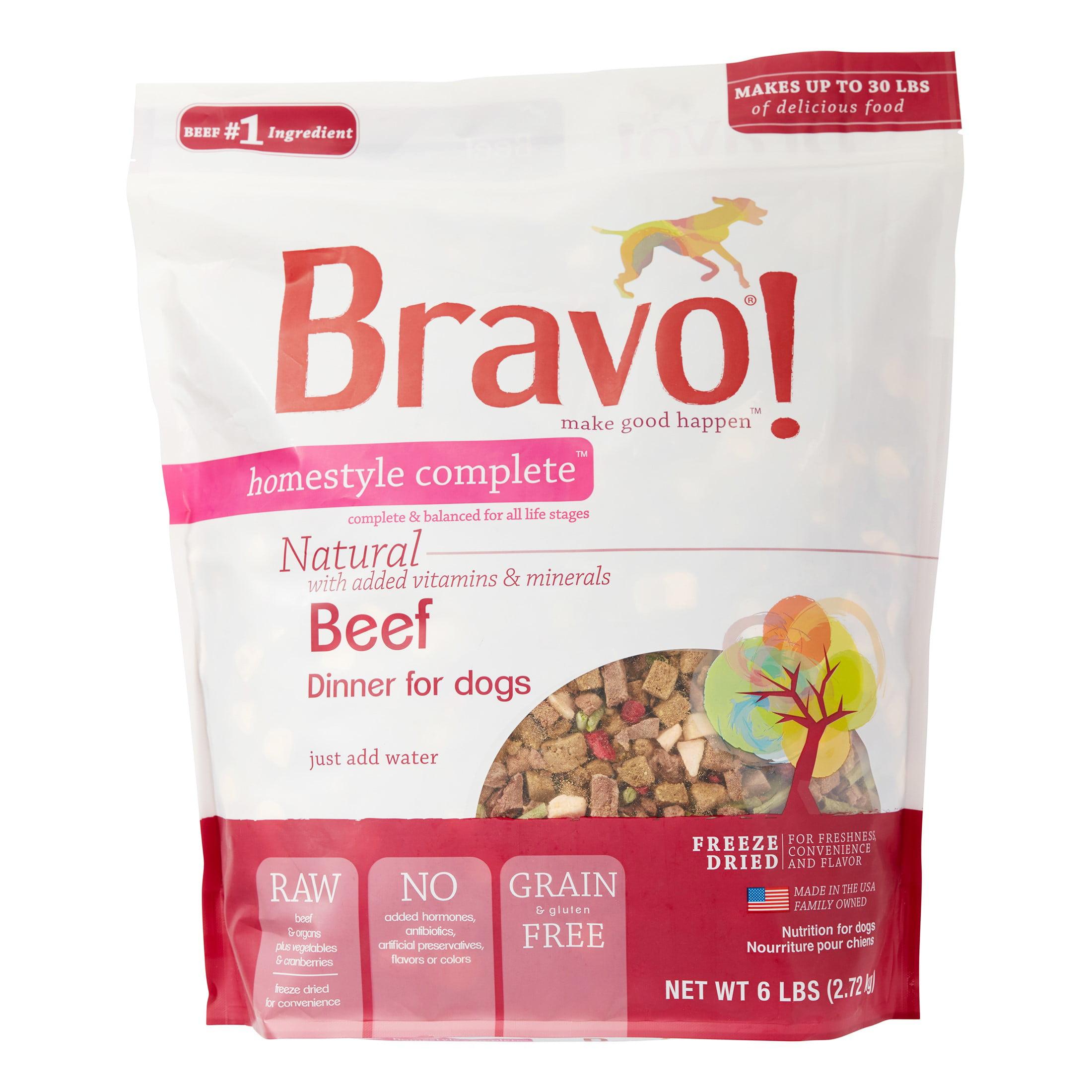 bravo freeze dried dog food reviews