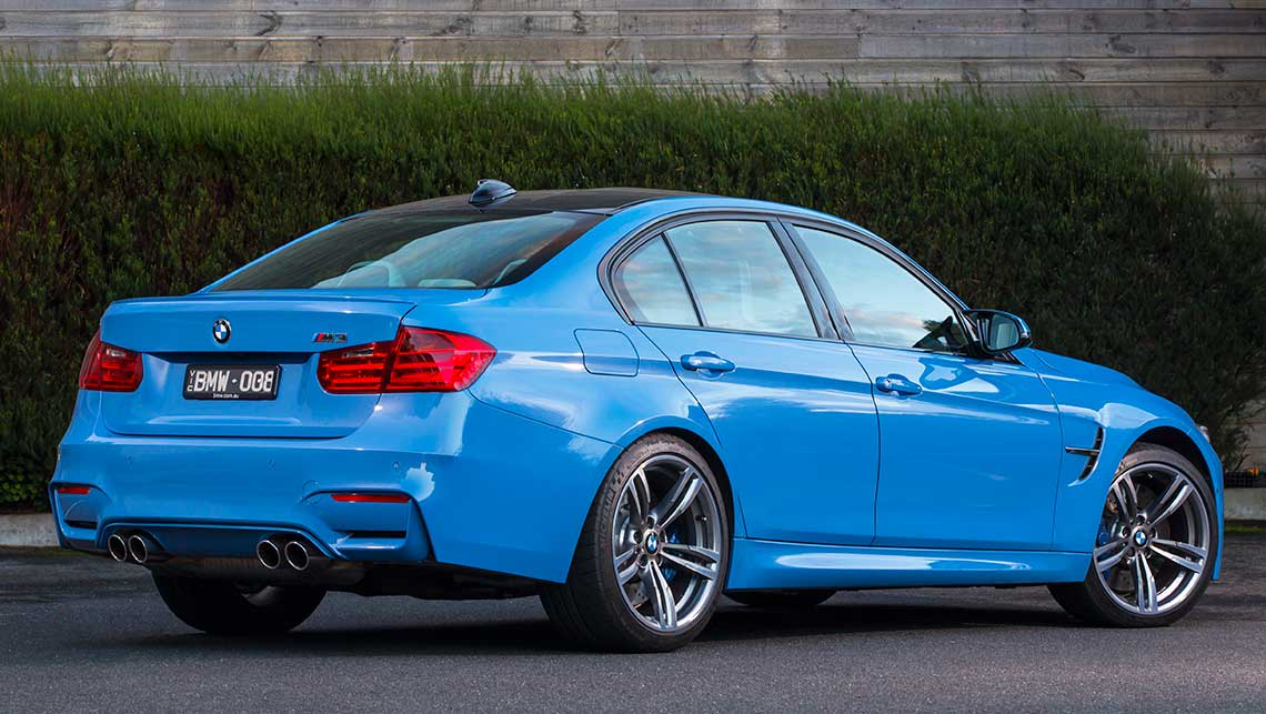 2015 bmw m3 sedan review