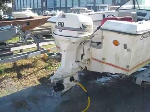 2003 johnson 90hp outboard review
