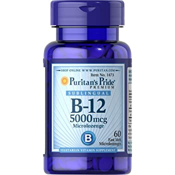 b12 sublingual 5000 mcg reviews