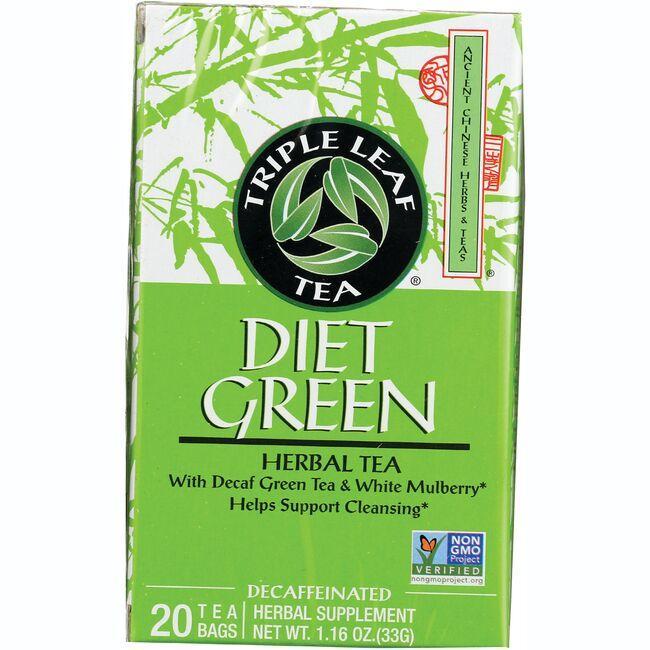 triple leaf dieters green tea reviews
