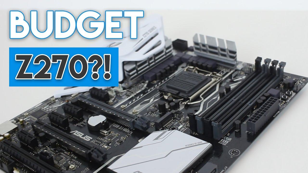 asus prime z270 k motherboard review