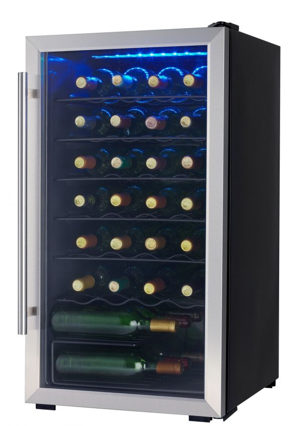 danby 45 bottle wine cooler review