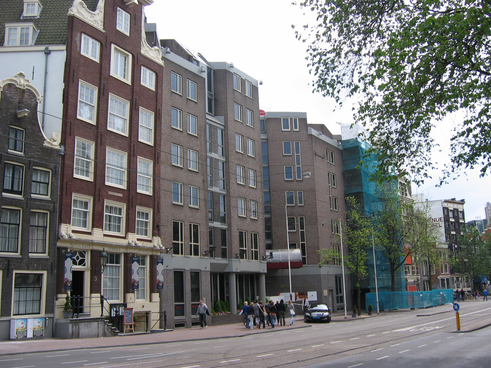 amsterdam crowne plaza city centre reviews