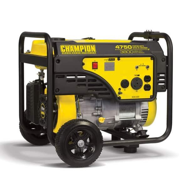 champion 4500 watt generator reviews
