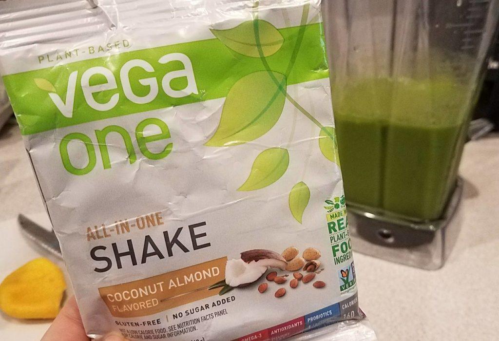 vega one coconut almond review