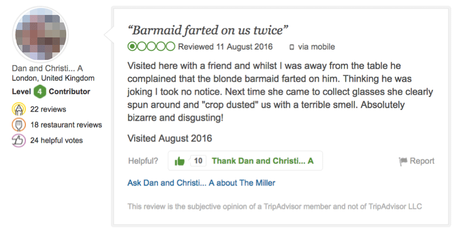 how to edit a review in tripadvisor