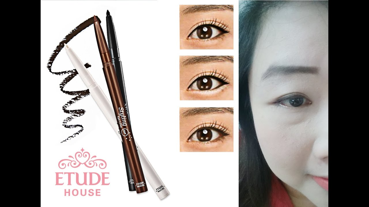 etude house styling eyeliner review