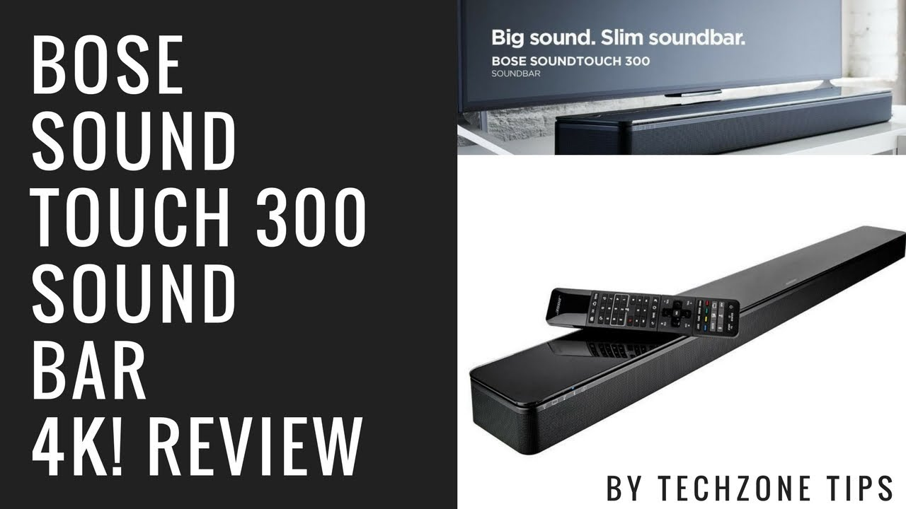 bose soundtouch 300 review 2017