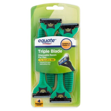 equate 3 blade razor review