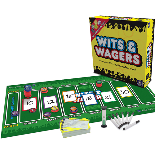 board game reviews wits and wagers