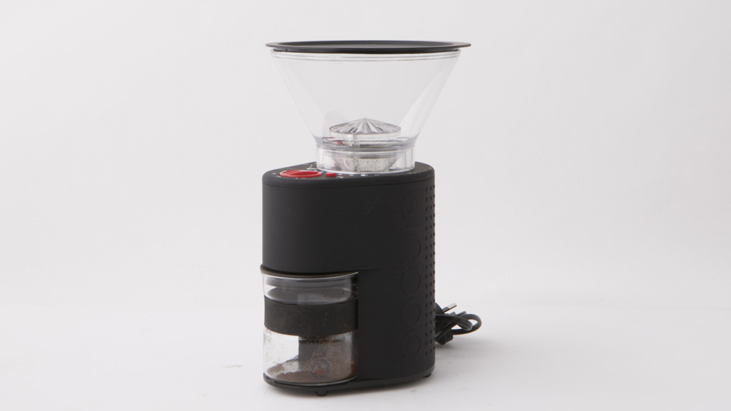 bodum bistro electric coffee grinder review