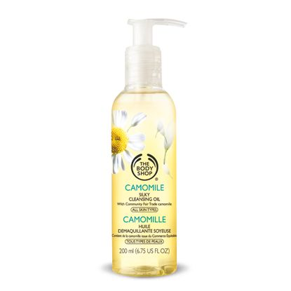 body shop camomile cleansing oil review