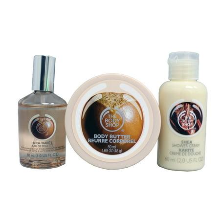 body shop shea shower gel review