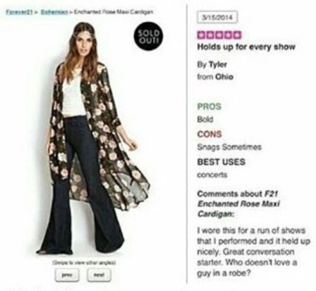forever 21 floral kimono tyler joseph review
