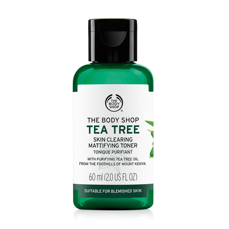 body shop tea tree toner review