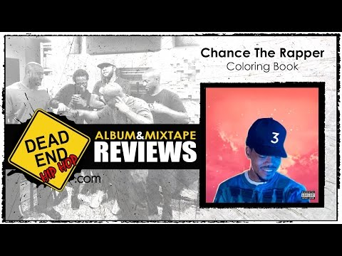 chance the rapper coloring book review