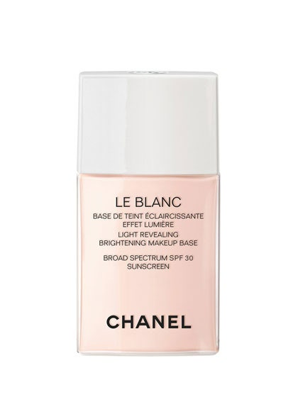 chanel le blanc light revealing brightening makeup base review