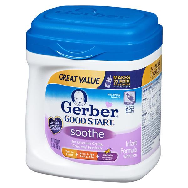 gerber good start soothe reviews
