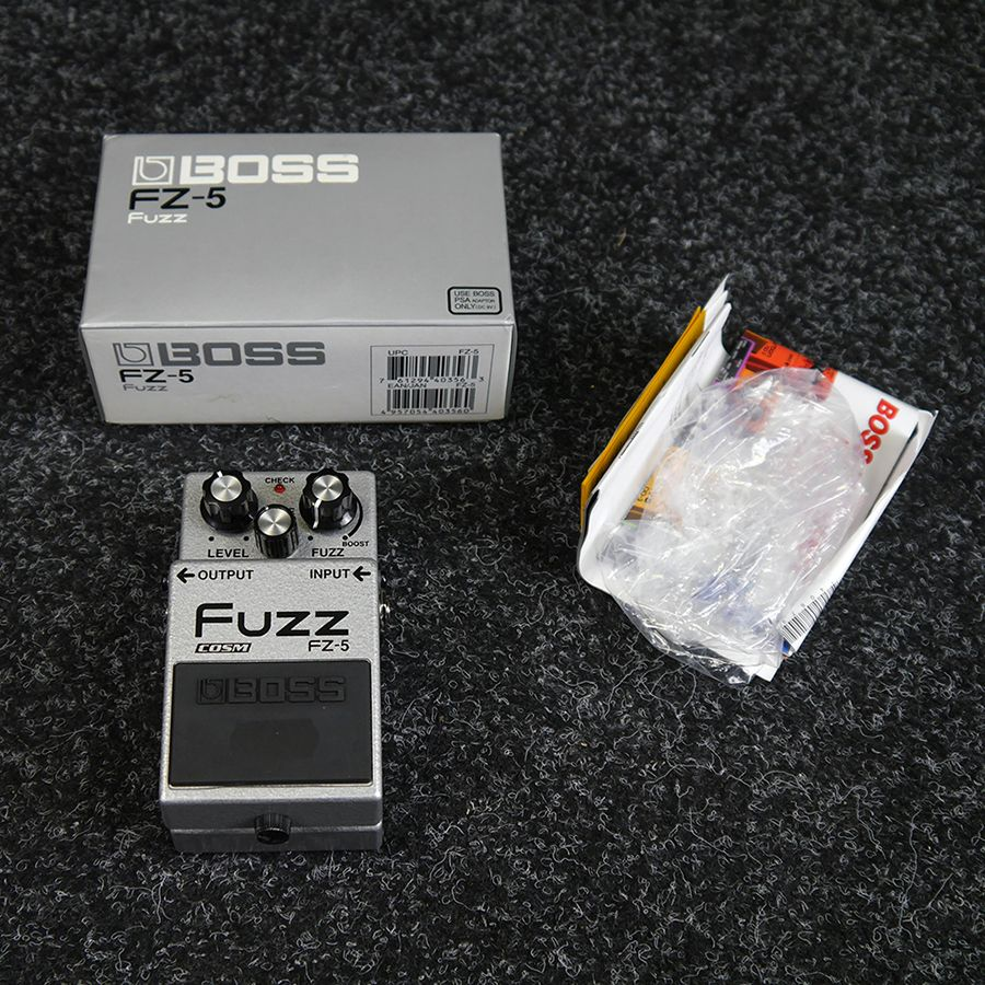 boss fuzz fz 5 review