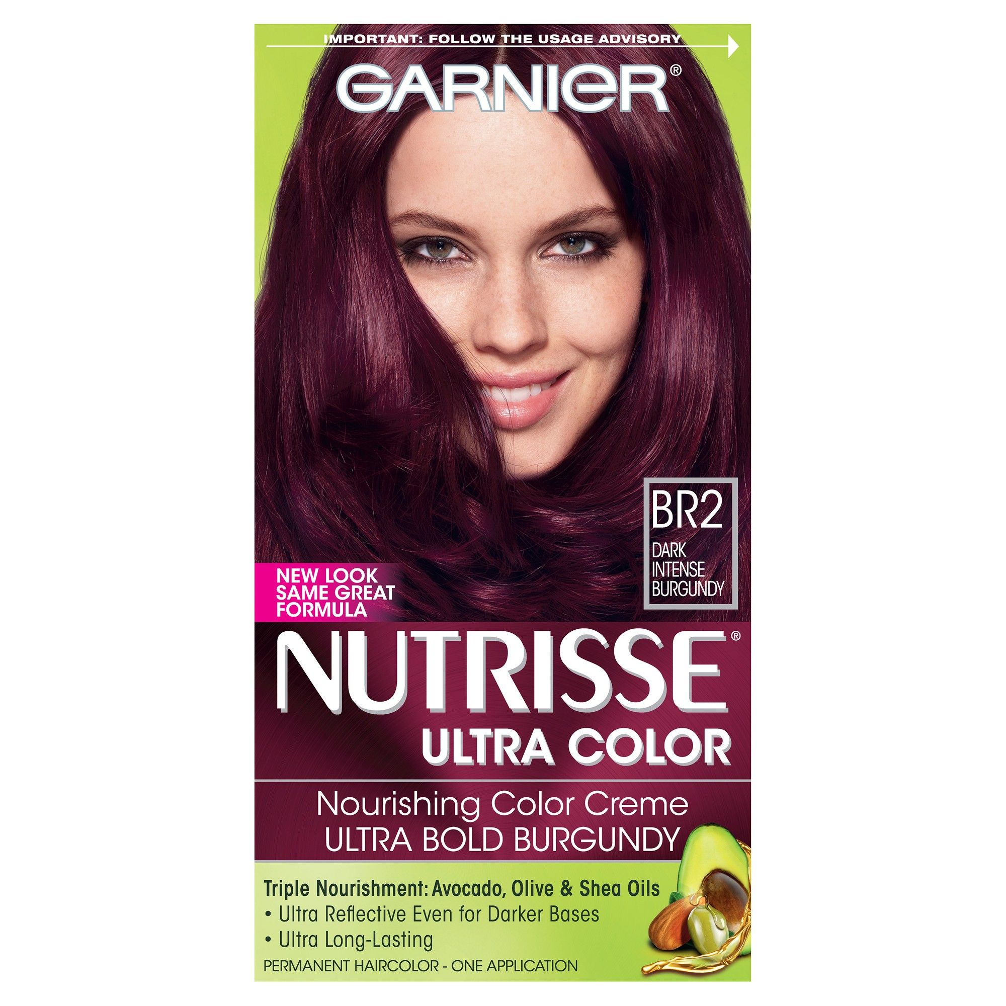 garnier purple hair dye review